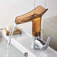 Rubinetto per lavabo Rubinetto per bagno a cascata