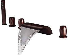 Rubinetto per vasca a 5 fori con doccia a mano Set