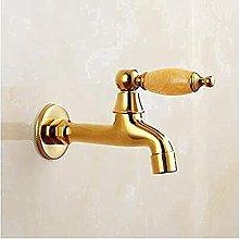 Rubinetto rubinetto esterno retro antico a parete