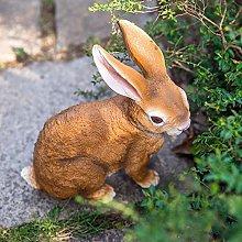 RUIXINLI Decorazioni da Giardino Giardino Coniglio