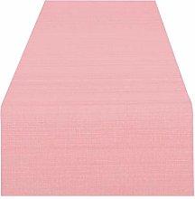 Runner da tavola VIENNA rosa, resinata