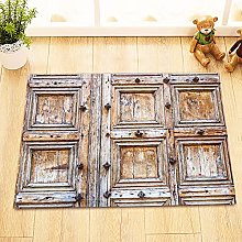 Rustico vecchio legno porta tema Indoor