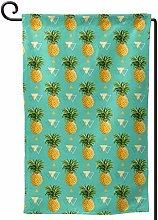 Rxi9s - Bandiera da giardino con ananas