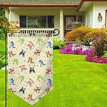 Rxi9s - Bandiera da giardino verticale resistente