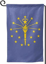 Rxi9s Bandiera Indiana all'aperto casa