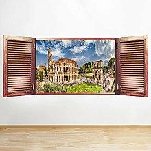 S198 Colosseo Italia Roma Città Finestra