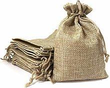 Sacchetti in lino 10*14 cm (25 sacchetti) Borsa