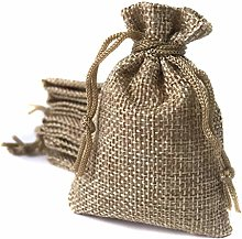 Sacchetti in lino 6,5*9 cm (70 sacchetti) Borsa