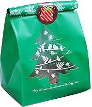 Sacchetti regalo, 50 pezzi sacchetti regalo albero