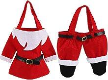 Sacchetto regalo di Natale Vestiti di Babbo Natale