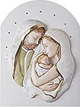 Sacra Famiglia B011 - Bassorilievo in polvere di