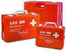 Safety Cassetta Pronto Soccorso Vuota Plastica