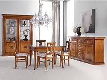 Sala da pranzo tavolo quadrato