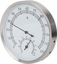 SALALIS Igrometro per Sauna, termometro per Acqua