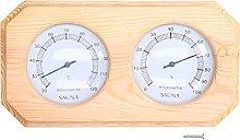 SALALIS Termometro per Sauna, termoigrometro con