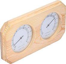 SALALIS Termometro per Sauna, termoigrometro