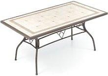 Salmar - Tavolo da Pranzo con Mosaico per 6