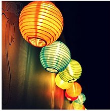 Samoleus Serie di lanterne solari da esterno con