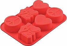 San Valentino Love 3D forma di cuore in silicone