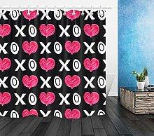 San Valentino XO Heart Design Stampa HD, tenda da