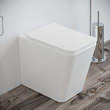 Sanitari bagno Vaso WC filomuro RIMLESS a terra in
