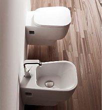 Sanitari Sospesi Ceramica F50 Small WC, BIDET,