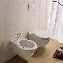 Sanitari Sospesi Classici Paestum WC + BIDET +