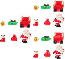 Santa di Natale Ornamenti di Stoccaggio in