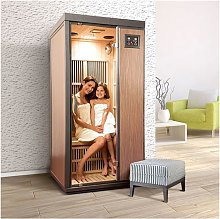Sauna a raggi infrarossi CORINNA da 1 posto