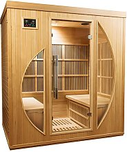 Sauna a raggi infrarossi ROWEN da 4 posti