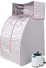Sauna Domestica Portatile con Generatore di Vapore