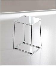 Sbabello plexiglass bianco serie bagno hotel -