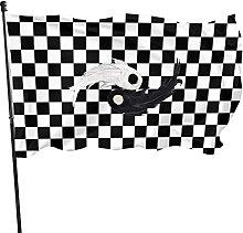 Scacchiera Scacchiera Bandiera da giardino