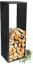 Scaffale Legno da Camino D-Stil 150 cm Porta Legna