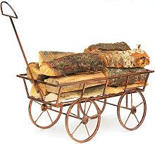 Scaffale per Legna da Camino Art. 46 Carrozza 65cm