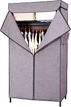 Scaffale per vestiti in acciaio al carbonio a 3