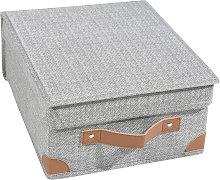 Scatola armadio 28x33x15 cm Bette, grigio grigio
