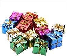 Scatola decorativa da 12 pezzi Scatola di Natale