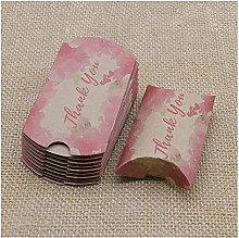 Scatola di caramelle Kraft Carta Carta Cuscino