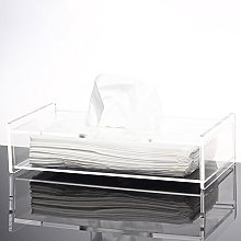 Scatola di tessuto Plexiglass acrilico tessuto Box