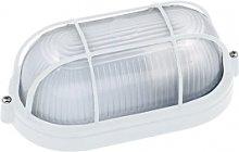 Scatola impermeabile ovale per vetro di