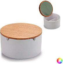 Scatola-Portagioie Plastica Colore:Bianco