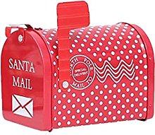Scatola regalo per cassetta postale di Natale con