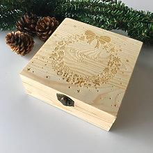 Scatola regalo per la vigilia di Natale con