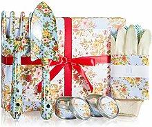 Scatola regalo regalo da giardinaggio per donne