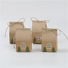 Scatole regalo per feste di Natale, scatole per