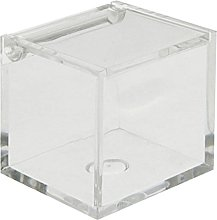 Scatolina portaconfetti plexiglass cm. 5x5x5
