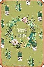 Scegli Happy Tin Look Vintage 20,5 x 30,5 cm