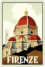Schatzmix Firenze - Targa in Metallo