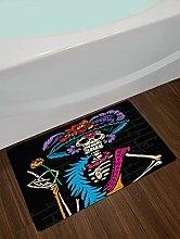 Scheletro vestito colorato Interno antiscivolo